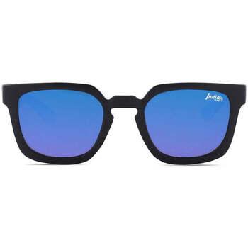 Uhren & Schmuck Sonnenbrillen The Indian Face Tarifa Black / Blue Schwarz