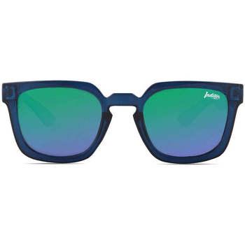 Uhren & Schmuck Sonnenbrillen The Indian Face Tarifa Blue / Green Blau