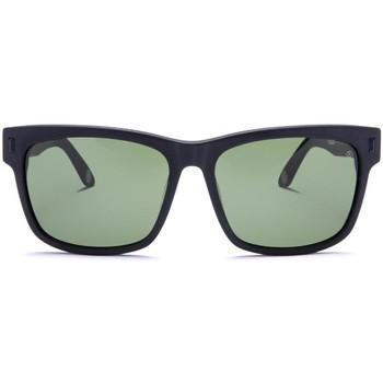 Uhren & Schmuck Sonnenbrillen The Indian Face Ushuaia Black / Green Schwarz