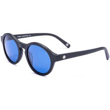 Uhren & Schmuck Sonnenbrillen The Indian Face Valley Black / Blue Schwarz