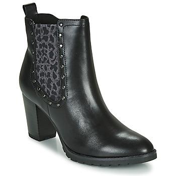 Schuhe Damen Low Boots Caprice LUTIMA Schwarz