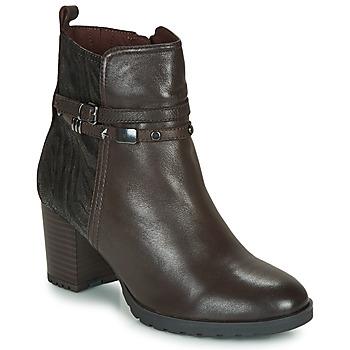 Schuhe Damen Low Boots Caprice LUNITONE Braun