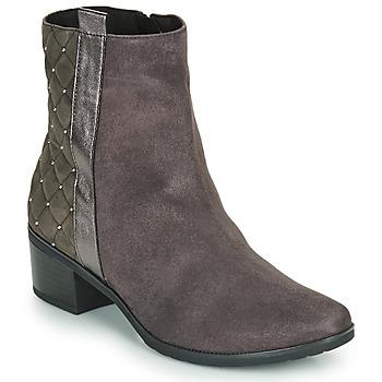 Schuhe Damen Boots Caprice LINITANE Grau