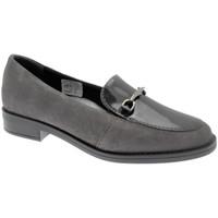 Schuhe Damen Slipper Calzaturificio Loren LOX5907gr grigio