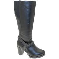 Schuhe Damen Klassische Stiefel Calzaturificio Loren LOC3860ne nero