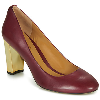 Schuhe Damen Pumps Lauren Ralph Lauren 802688958-004 Bordeaux