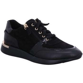 Schuhe Damen Sneaker Low Sioux Schnuerschuhe Malosika-701 66031 schwarz