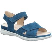Schuhe Damen Sandalen / Sandaletten Hartjes Sandaletten sandalette 110462 blau