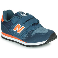 Schuhe Kinder Sneaker Low New Balance YV373KN-M Blau / Rot