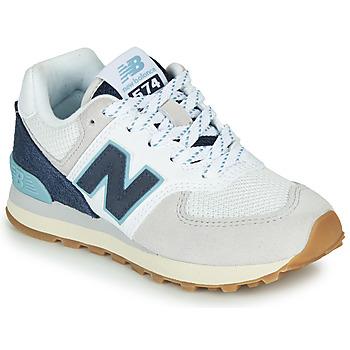 Schuhe Sneaker Low New Balance GC574SOU Weiss / Blau