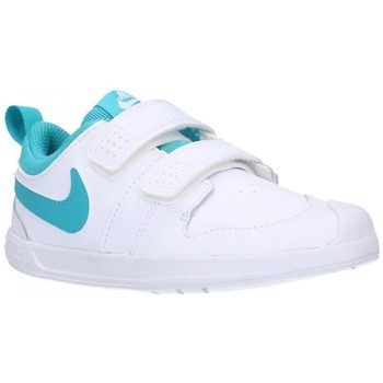 Schuhe Jungen Sneaker Low Nike AR4162/4161 101 Niño Blanco blanc