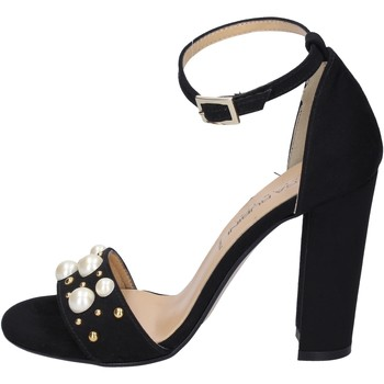 Schuhe Damen Sandalen / Sandaletten Olga Rubini sandalen synthetisches wildleder schwarz