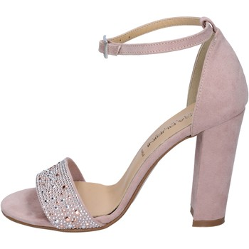 Schuhe Damen Sandalen / Sandaletten Olga Rubini sandalen synthetisches wildleder pink