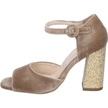 Schuhe Damen Sandalen / Sandaletten Olga Rubini sandalen samt beige