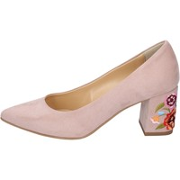 Schuhe Damen Pumps Olga Rubini pumps synthetisches wildleder pink