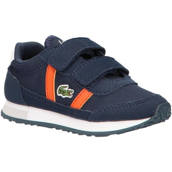 Schuhe Kinder Sneaker Low Lacoste 38SUI0011 PARTNER 325 NVY-ORG Azul