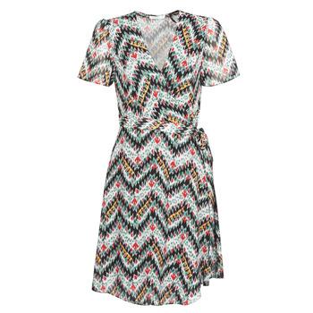 Kleidung Damen Kurze Kleider Les Petites Bombes V7205 Multicolor
