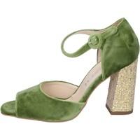 Schuhe Damen Sandalen / Sandaletten Olga Rubini BP385 grün
