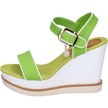 Schuhe Damen Sandalen / Sandaletten Enrico Coveri sandalen kunstleder grün