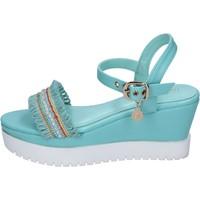Schuhe Damen Sandalen / Sandaletten Enrico Coveri sandalen kunstleder hellblau