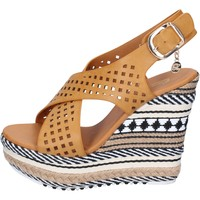 Schuhe Damen Sandalen / Sandaletten Enrico Coveri BP392 braun
