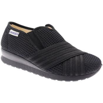 Schuhe Damen Slip on Emanuela EM2873ne nero