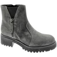 Schuhe Damen Boots Soffice Sogno SOSO9823gr grigio