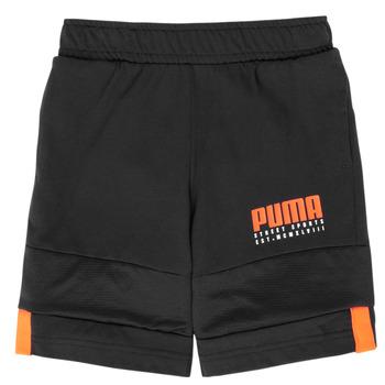 Kleidung Jungen Shorts / Bermudas Puma ALPHA JERSEY SHORT Schwarz
