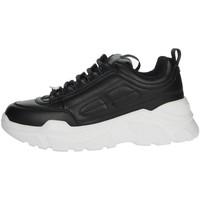 Schuhe Damen Sneaker High Pregunta MCD001 Schwarz