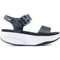 Schuhe Damen Sandalen / Sandaletten Mbt MANNI SANDALEN 2 BLACK NAPPA