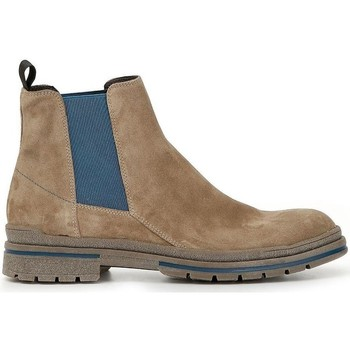 Schuhe Herren Boots Café Noir HTE643 TAUPE
