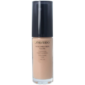 Beauty Damen Make-up & Foundation  Shiseido Synchro Skin Glow Luminizing Fluid Foundation r4 30 ml