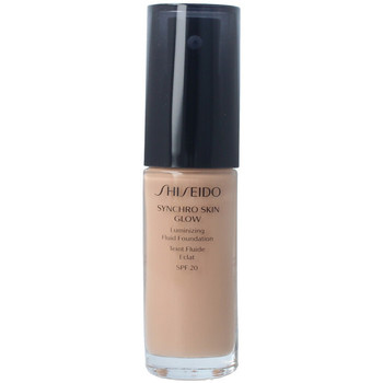 Beauty Damen Make-up & Foundation  Shiseido Synchro Skin Glow Luminizing Fluid Foundation r5 30 ml