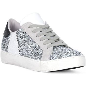 Schuhe Herren Multisportschuhe At Go GO GLITTER BIANCO Bianco