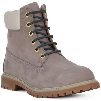 Schuhe Damen Boots Lumberjack CD017 ANKLE BOOT Grigio