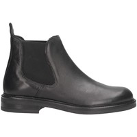 Schuhe Herren Boots Made In Italia 750 PELLE Beatles Mann schwarz schwarz