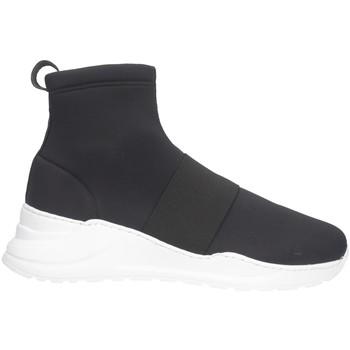 Schuhe Herren Sneaker High Made In Italia 109 LICRA Sneaker Mann schwarz schwarz