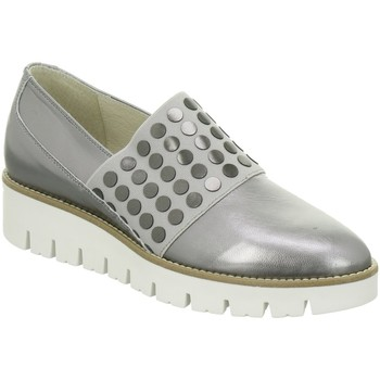 Schuhe Damen Slip on Dl-Sport Slipper 3464 Version A silber