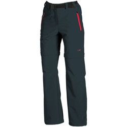 Kleidung Damen Jogginghosen Cmp F.lli Campagnolo Sport WOMAN ZIP OFF PANT 3T51446 U423 schwarz