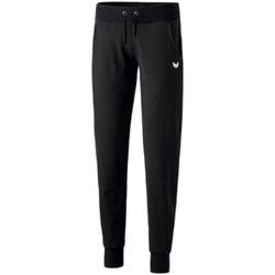 Kleidung Damen Jogginghosen Erima Sport sweatpants with cuffs 210211-952 2004389010 schwarz