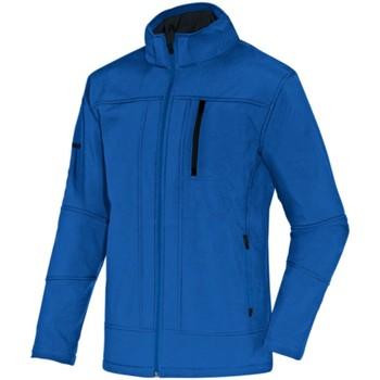 Kleidung Damen Jacken Jako Sport Softshelljacke Team 7611D 04 blau