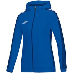 Kleidung Damen Trainingsjacken Jako Sport Kapuzenjacke Striker 6816D 04 blau