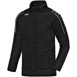 Kleidung Herren Daunenjacken Jako Sport Coachjacke Classico 7150 08 schwarz