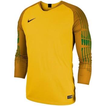Kleidung Jungen Langarmshirts Nike Sport YTH NK GARDIEN II GK JSY LS 898046 719 gelb