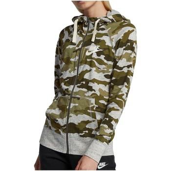 Kleidung Damen Trainingsjacken Nike Sport Camo Gym Vintage FZ Hoodie Women AO9174-395 sonstige