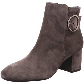Schuhe Damen Low Boots Paul Green Stiefeletten 9322 9322-023 grau