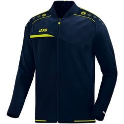 Kleidung Herren Trainingsjacken Jako Sport Clubjacke Prestige 6858 09 blau
