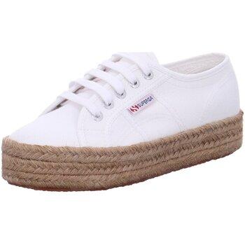 Schuhe Damen Sneaker Low Superga Schnuerschuhe S00CF20 Fb= 901 2730-Cotropw weiß