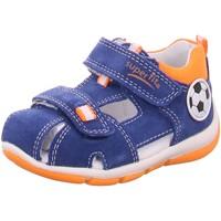Schuhe Jungen Babyschuhe Superfit Schuhe Freddy 4-09142-80 blau