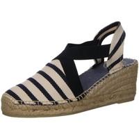 Schuhe Damen Sandalen / Sandaletten Toni Pons Sandaletten Tarbes Tarbes ecru navy Tarbes beige